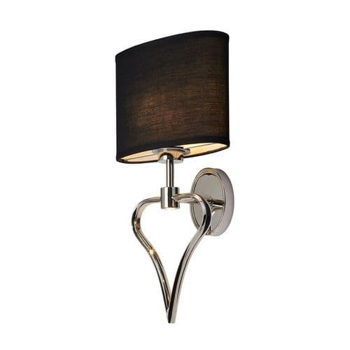 Falmouth Chrome Bathroom Wall Light - Elstead Lighting