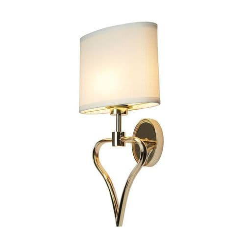 Falmouth Gold Bathroom Wall Light - Elstead Lighting