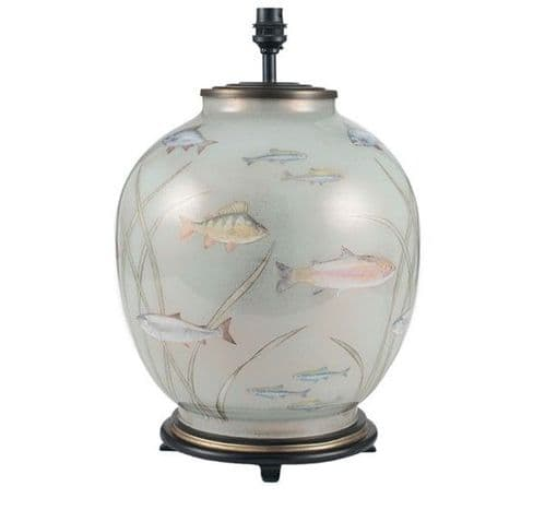 Fish Large Round Table Lamp - Jenny Worrall