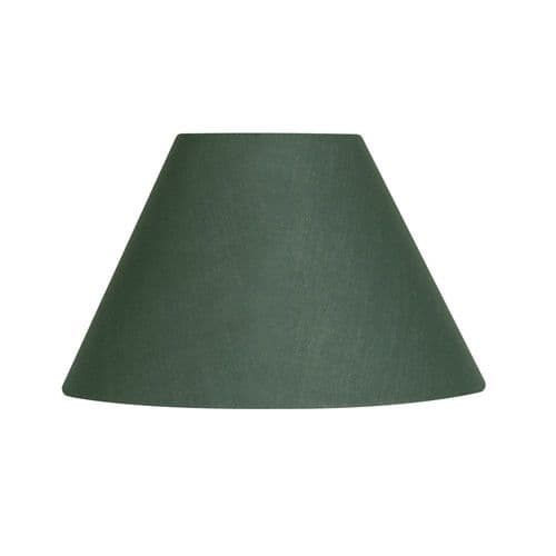 """Forest 5"""" Cotton Coolie Lamp Shade - Oaks Lighting"""