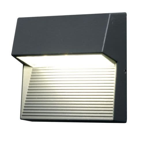 Freyr Square LED Exterior Wall Light - Elstead Lighting