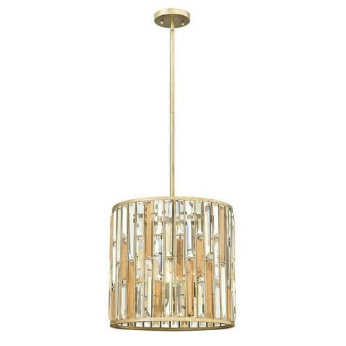 Gemma Silver Leaf 3 Light Ceiling Pendant - Hinkley Lighting - SALE - Was £526.50