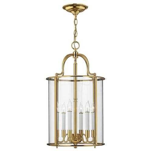 Gentry Brass Large Interior Lantern - Hinkley Lighting