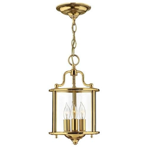 Gentry Brass Small Interior Lantern - Hinkley Lighting