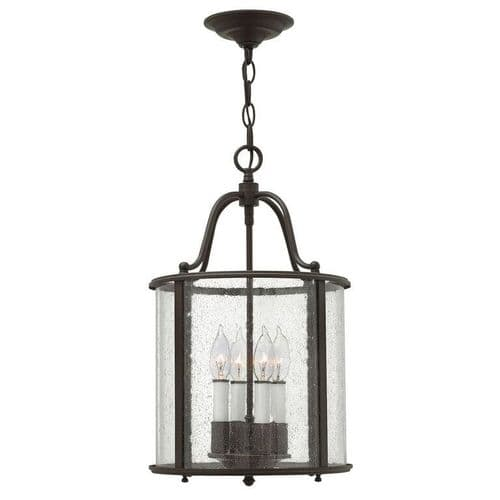 Gentry Bronze Medium Interior Lantern - Hinkley Lighting