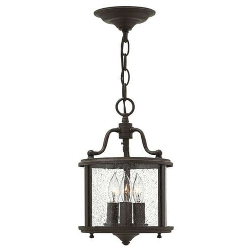 Gentry Bronze Small Interior Lantern - Hinkley Lighting