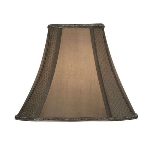 "Gold 14"" Shaped Square Lamp Shade - Oaks Lighting"