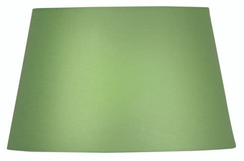"Green 14"" Cotton Drum Lamp Shade - Oaks Lighting"