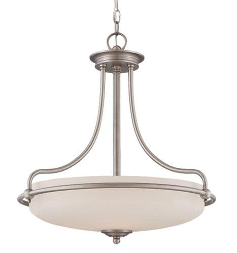 Griffin Antique Nickel Ceiling Light Pendant - Quoizel Lighting