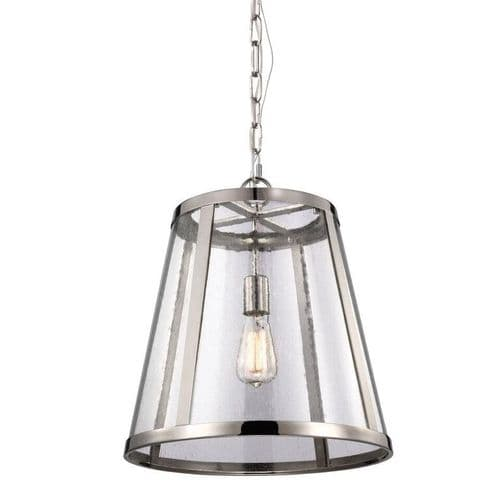 Harrow Medium Single Light Pendant - Feiss Lighting