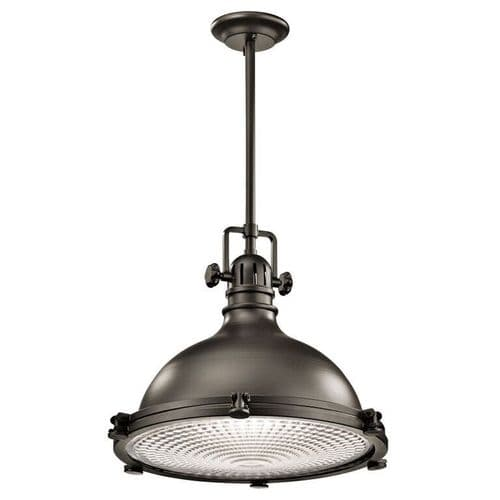 Hatteras Bay Bronze Large Ceiling Light Pendant - Kichler Lighting