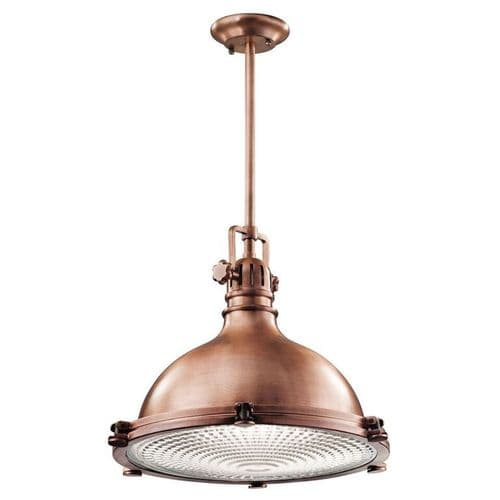Hatteras Bay Copper Large Ceiling Light Pendant - Kichler Lighting
