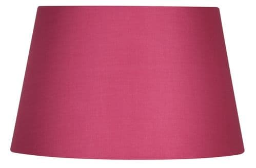 "Hot Pink 16"" Cotton Drum Lamp Shade - Oaks Lighting"