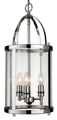 Imperial Large Chrome Interior Lantern - Firstlight Lighting