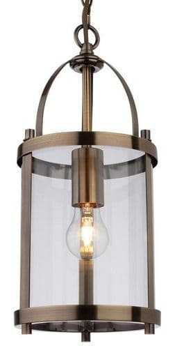 Imperial Small Antique Brass Interior Lantern - Firstlight Lighting
