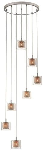 Jayne 7 Light Cluster Ceiling Light Pendant - Luxury Lighting
