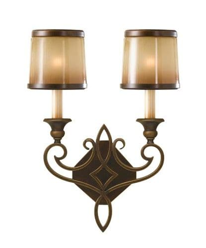 Justine Double Wall Light - Feiss Lighting