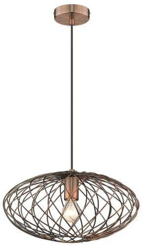 Karen A Single Light Pendant - Luxury Lighting