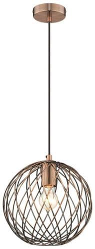 Karen B Single Light Pendant - Luxury Lighting