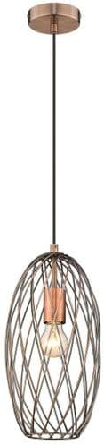 Karen C Single Light Pendant - Luxury Lighting