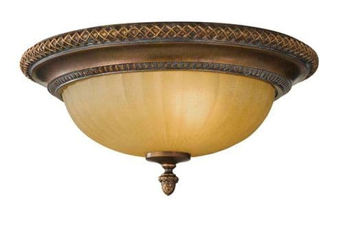Kelham Hall Flush Ceiling Light - Feiss Lighting