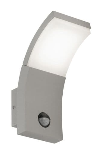 Kroz Silver Grey LED Wall Light  - Oaks Lighting