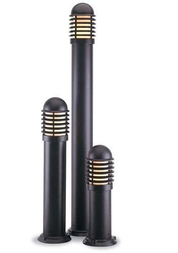 Large Black Bollard Light - Firstlight Lighting