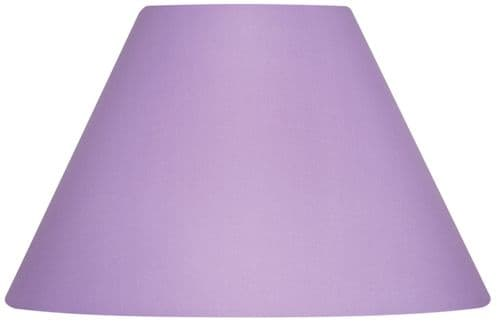 "Lilac 14"" Cotton Coolie Lamp Shade - Oaks Lighting"