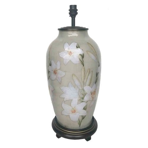 Lily Tall Urn Table Lamp - Jenny Worrall