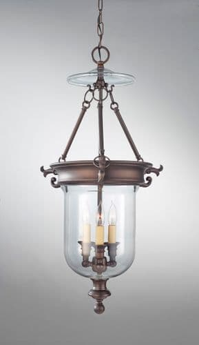 Luminary 3 Light Interior Lantern - Feiss Lighting