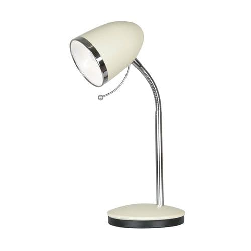 Madison Cream Desk Lamp - Oaks Lighting