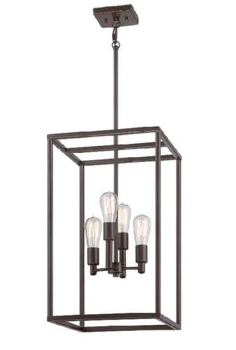 New Harbor Lantern Style Ceiling Light - Quoizel Lighting