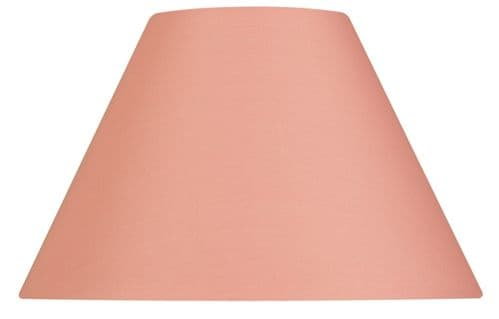 "Pale Pink 20"" Cotton Coolie Lamp Shade - Oaks Lighting"