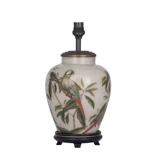 Parrot Small Urn Table Lamp - Jenny Worrall