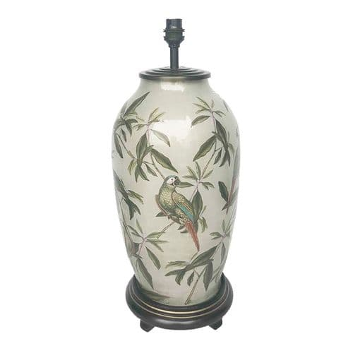 Parrot Tall Urn Table Lamp - Jenny Worrall