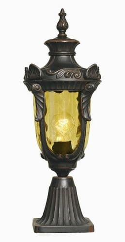 Philadelphia Pedestal Lantern - Elstead Lighting