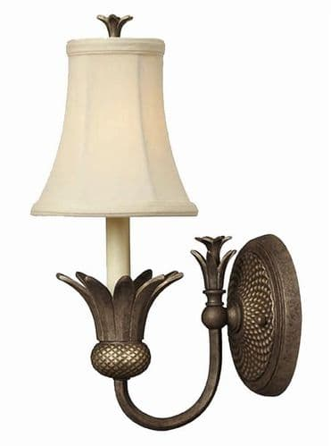 Plantation Pearl Bronze Wall Light - Hinkley Lighting