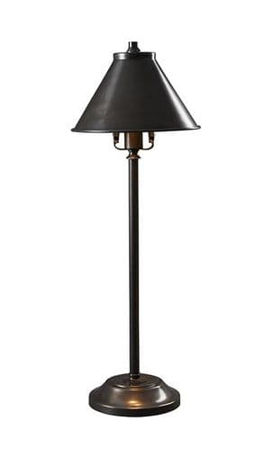 Provence Old Bronze Stick Lamp - Elstead Lighting