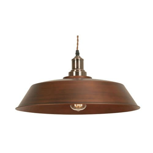 Ribe Copper Single Light Pendant - Oaks Lighting