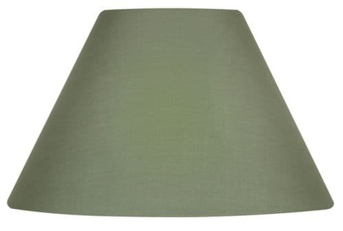 "Sage 20"" Cotton Coolie Lamp Shade - Oaks Lighting"