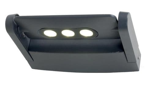 Sigmund 3w LED Exterior Wall Light - Elstead Lighting