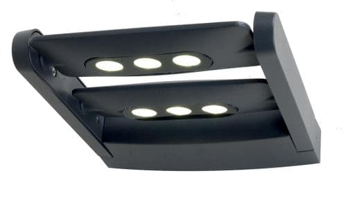 Sigmund 6w LED Exterior Wall Light - Elstead Lighting