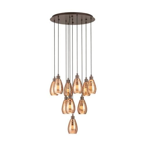 Siracusa 10 Light Cluster Ceiling Light Pendant - Eglo Lighting