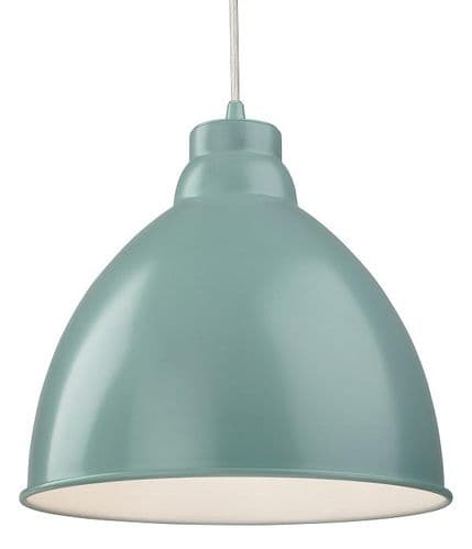 Union Pale Blue Single Light Pendant - Firstlight Products - SALE - Was £42.48