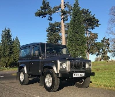 *** SOLD *** Land Rover 90 XS CSW TD5 2006