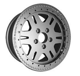 1 x Anthricite Terrafirma RVS Alloy Wheel - Discovery 2 - Alloy Nuts Only - TF107