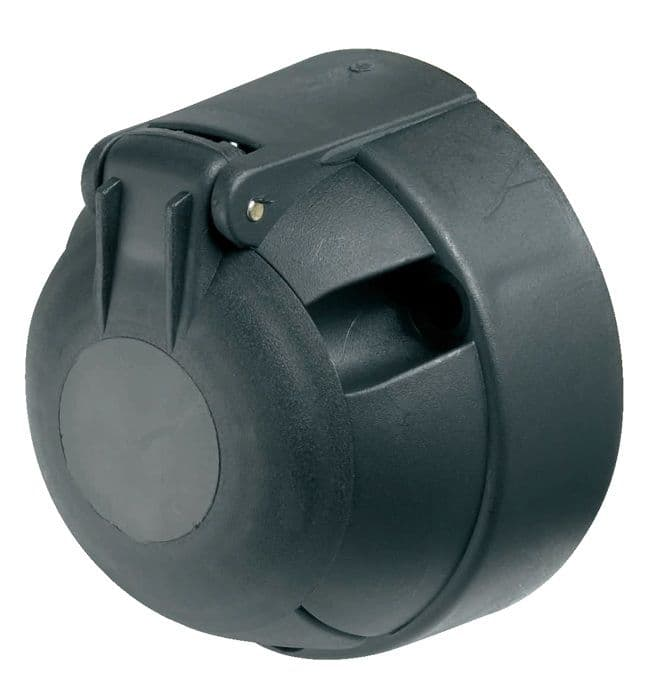 12N 7 Pin Plastic Socket (c/w fog cut out)