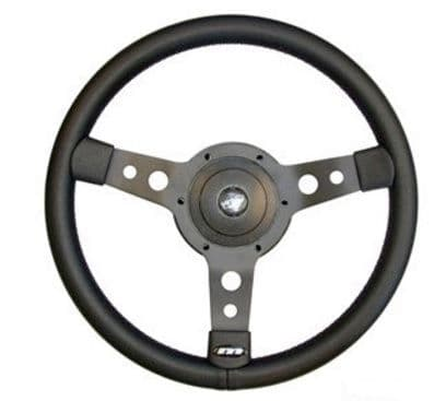 "14"" 3 Spoke Sports Steering Wheel - DA4654"