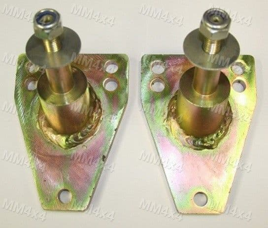 "2"" Rear Top Shock Mounts (pair) - Defender / Discovery 1 / Range Rover Classic"
