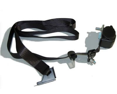 4 Door - Front Seat Inertia Reel & Buckle Stalk - Please Click Image to Select Left / Right Hand
